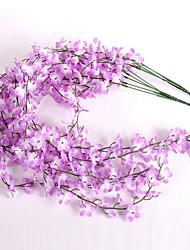 1 1 Une succursale Plastique / Autres Autres Guirlande et Fleur Murale Fleurs artificielles