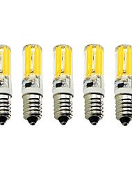 5PCS A Fil Others E14 2809 SMD COB AC220V 1500 lm Warm White Neutral White Glue Waterproof Lamp Other