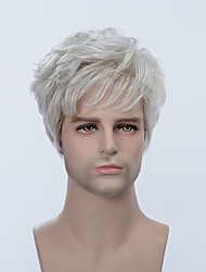 New Arrival Short Capless Wigs Natural Straight Human Hair For Men