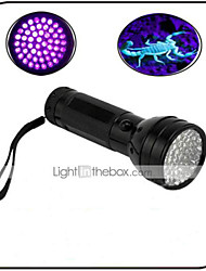 Lights LED Flashlights/Torch LED 100 lumens Lumens 1 Mode - AA Waterproof / Ultraviolet Light / Counterfeit DetectorEveryday Use /