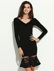 YIMILAN® Women's The New Fashion Joker Sexy Knitting Lace Tail Skirts