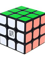 Yongjun® Smooth Speed Cube 3*3*3 Speed Magic Cube / Educational Toy Black Smooth Sticker Yulong Anti-pop / Adjustable spring ABS