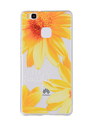 For Huawei Y635 4C 4X 5C 5X P8 P9 P8Lite P9Lite Honor8 Honor7 Honor6 Case Cover Small Sunflower Pattern TPU Material Phone Case
