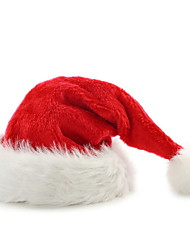 Christmas Decoration Honey Velvet Plush Santa Claus Hat Super Soft Christmas Hat