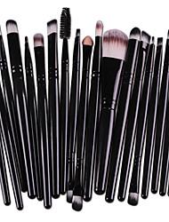 15 pcs/Sets Eye Shadow Foundation Eyebrow Lip Brush Makeup Brushes Tool Design