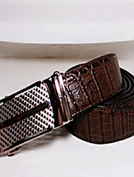Masculino Cinto para a Cintura Vintage Pele Masculino