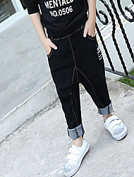 Boy Casual/Daily Solid Pants-Cotton Winter / Fall