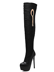 Women's Boots Winter Others PU Casual Black