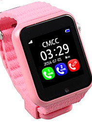 GPS Tracking and Positioning Kids Smart Watch MTK2503 Pedometer Watch with Bluetooth Camera and MP3 V7K