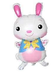 Balões Decoração Para Festas Animal alumínio Branco Para Meninos / Para Meninas 5 a 7 Anos / 8 a 13 Anos