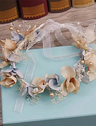 Women's Alloy / Imitation Pearl / Fabric Headpiece-Wedding / Special Occasion / Casual Headbands / Wreaths 1 Piece