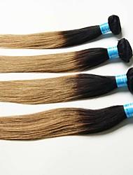 4 Pièces Droit (Straight) Tissages de cheveux humains Cheveux Péruviens 0.2kg 8-30 inch Extensions de cheveux humains
