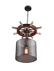 MAX60W Luzes Pingente ,  Contemprâneo / Vintage Outros Característica for Designers MetalSala de Estar / Quarto / Sala de Jantar /