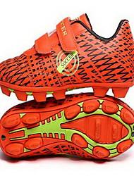 Soccer Shoes Kid's Anti-Slip Anti-Shake/Damping Wearproof Breathable Outdoor Low-Top PU EVA Soccer/Football