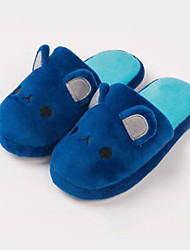 Girl's Slippers & Flip-Flops Fall Winter Other Comfort Cotton Outdoor Casual Applique Blue Yellow Pink White Coffee