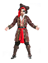 Festival/Holiday Halloween Costumes Brown Solid Top / Pants / Belt / Hats / More Accessories / Headwear Halloween / Christmas / Carnival