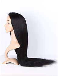 8A Straight Lace Front Human Hair Wigs For Black Women Brazilian Virgin Hair Front Lace Wigs Glueless Lace Front Human Hair Wigs