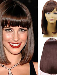 12Short Bob Wig for Women Synthetic Wigs Female Cheap Bob Fake Hair Wigs Heat Resistant