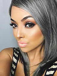 Beautiful Long Straight Capless  Human Hair  Wigs