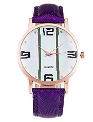 XU Women Fashion Notch Big Dial Diamond Dial Numbers Watch