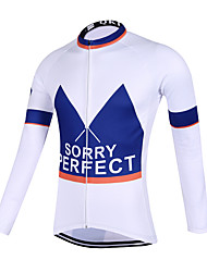 Sports QKI Cycling Jersey Unisex Long Sleeve Bike Breathable / Quick Dry / Anatomic Design / Front Zipper / Sweat-wicking Jersey Polyester