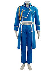 Fullmetal Alchemist Anime Cosplay Costumes Coat / Shirt / Pants / Badge / Gloves / Leg Warmers Kid
