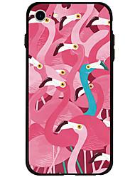 Para Estampada Capinha Capa Traseira Capinha Animal Macia Acrílico para AppleiPhone 7 Plus / iPhone 7 / iPhone 6s Plus/6 Plus / iPhone