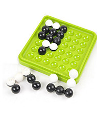 Board Game / Educational Toy / Maze & Sequential Puzzles Games & Puzzles Toys Circular / Square ABS Cyan / Black / WhiteFor Boys / For