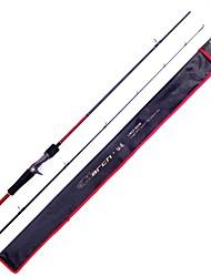Fish Hunter - Fishing Rod Pen Rod Carbon 2.10M 2 Sections MH Fast Carbon Lure Rod Casting Fishing Rod