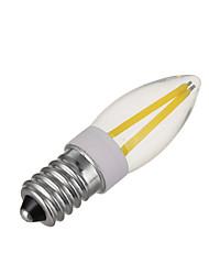 3W E14 Lâmpadas Espiga 4 COB 300 lm Branco Quente / Branco Frio Regulável V 1 pç