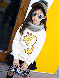 Girl Casual/Daily Print Blouse,Cotton Winter / Fall Long Sleeve