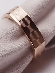 Ring Initial Jewelry Titanium Steel 18K gold Jewelry For Wedding 1pc