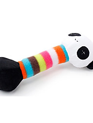 Dog Toy Pet Toys Plush Toy / Squeaking Toy Squeak / Squeaking / Durable Multicolor Cotton