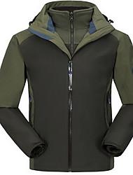 Trilha Blusas Homens Impermeável / Mantenha Quente / A Prova de Vento / Isolado / Confortável Primavera / Outono / Inverno Terylene