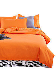 Mingjie Wonderful Orange Bedding Sets 4PCS for Twin Full Queen King Size from China Contian 1 Duvet Cover 1 Flatsheet 2 Pillowcases