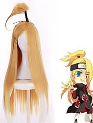 Hokage Wig Japanese Long Cosplsy Shaggy Naruto Hatake Kakashi Heat Resistant Wigs