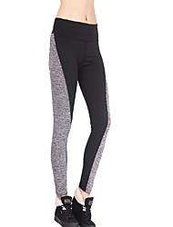 Da donna Skinny Pantaloni della tuta Pantaloni-Attivo Casual A strisce A vita alta Elasticità Poliestere Elastico Autunno / Inverno