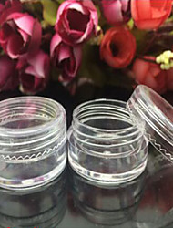 Cosmetic Box / Cosmetic Bottle Plastic 1 Others 5.2*3.2*3.2cm Normal Transparent / Nude