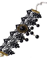 Femme Bracelet de cheville/Bracelet Gemme Dentelle Simple Style Mode Goutte Bijoux Pour