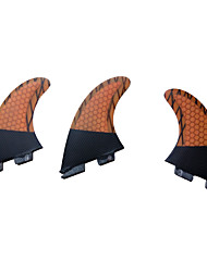 Surfen / SUP - Surfboard / Longboard Carbon / Glasfaser Orange