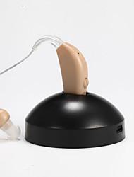 audience rechargeable numérique facilite l'amélioration de l'aide amplificateur sonore de la voix sourde aide de l'UE adaptateur