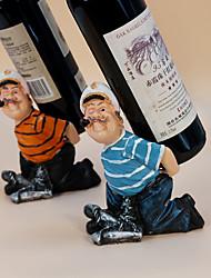 Casiers à Bouteilles Bois,13*9*17.5CM Du vin Accessoires