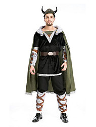 Festival/Holiday Halloween Costumes Black Solid Top / Pants / Belt / Hats / More Accessories Halloween / Christmas / Carnival Male
