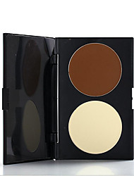 2 Concealer/Contour Dry Pressed powder Concealer Uneven Skin Tone Face Multi-color