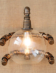 AC 220-240 40 E26/E27 Rustique/Campagnard / Rustique Laiton Antique Fonctionnalité for Ampoule incluse,Eclairage d'ambianceChandeliers