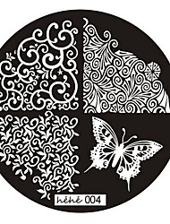 1PCSNail Art Image Stamp Stamping Plates Manicure Template