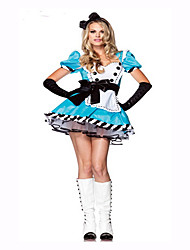 Maid Costumes Festival/Holiday Costumes Dress / Headwear  Female Polyester