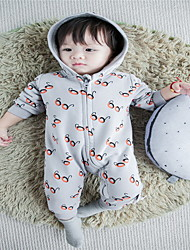 Baby Casual/Daily Print One-Pieces,Cotton Spring / Fall Long Sleeve