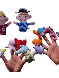 Stuffed Toys Brinquedos Originais Brinquedos Novidades Golfinho / Peixes / Polvo / Lagosta Felpudo Arco-Íris Para Meninos / Para Meninas
