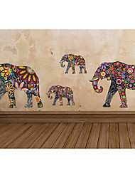 Animaux Stickers muraux Stickers avion Stickers muraux décoratifs,Vinyle Matériel Amovible Décoration d'intérieur Wall Decal